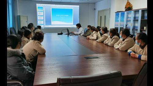 雅安仁康医院开展医院保洁工作人员法律法规培训