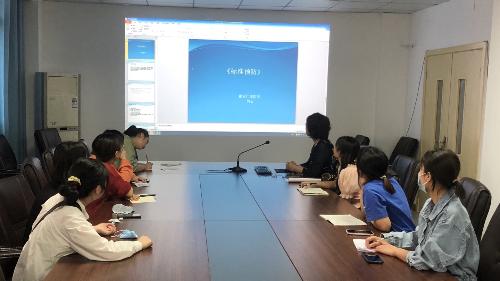 雅安仁康医院院感科开展新上岗 护理人员培训工作
