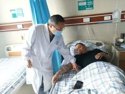 一男子结石病发作查出肾癌 雅安仁康医院及时手术除病根