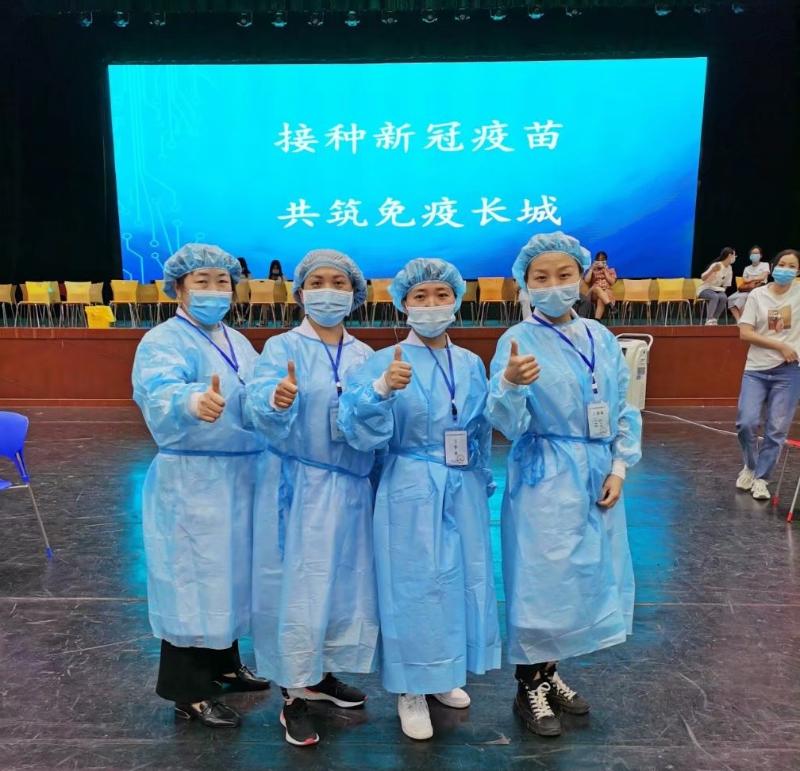 雅安仁康医院接种疫苗护士
