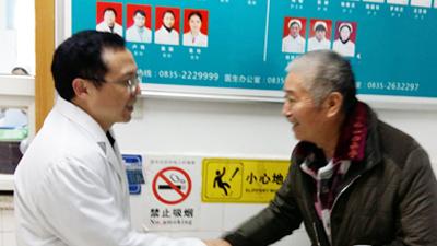 一次手术解除双肾结石,雅安仁康医院,我来对地方了