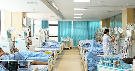 雅安仁康医院血液透析大厅